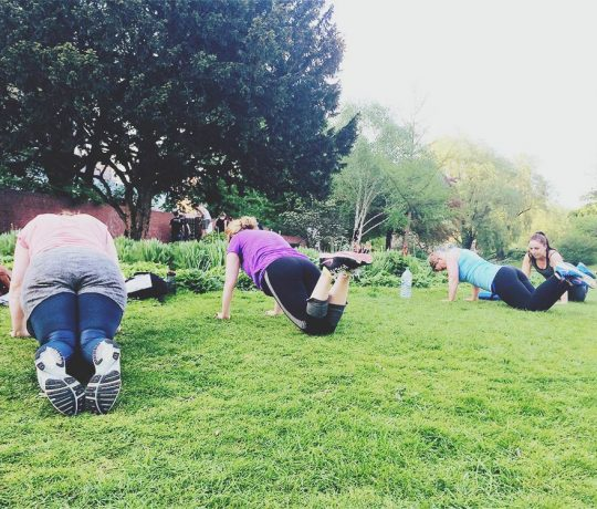 Outdoor Fitness Athladies Bootcamp