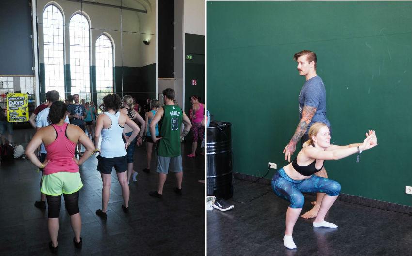 Urban Fit Days 2016 - CrossFit Assessment Workshop mit Johannes Kwella