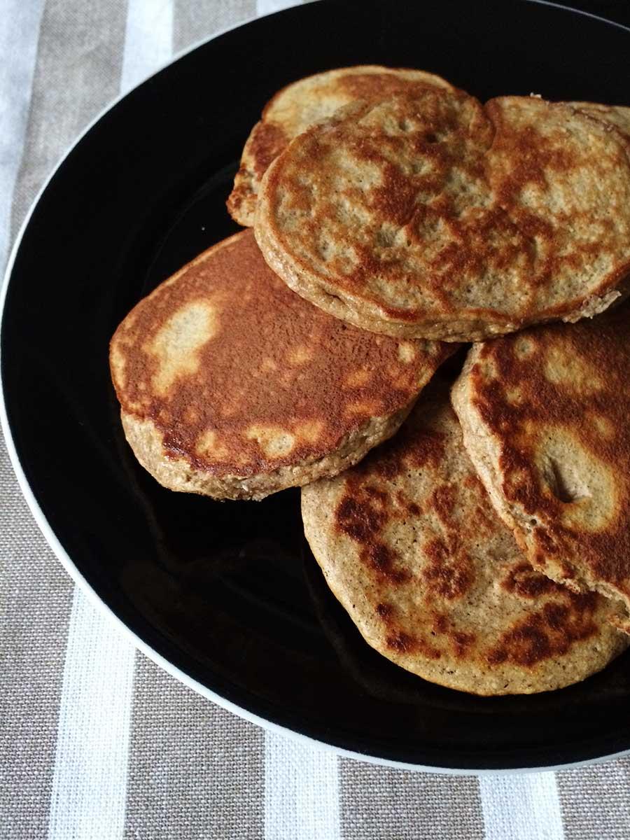 Low Carb Pancakes mit Kokosmehl