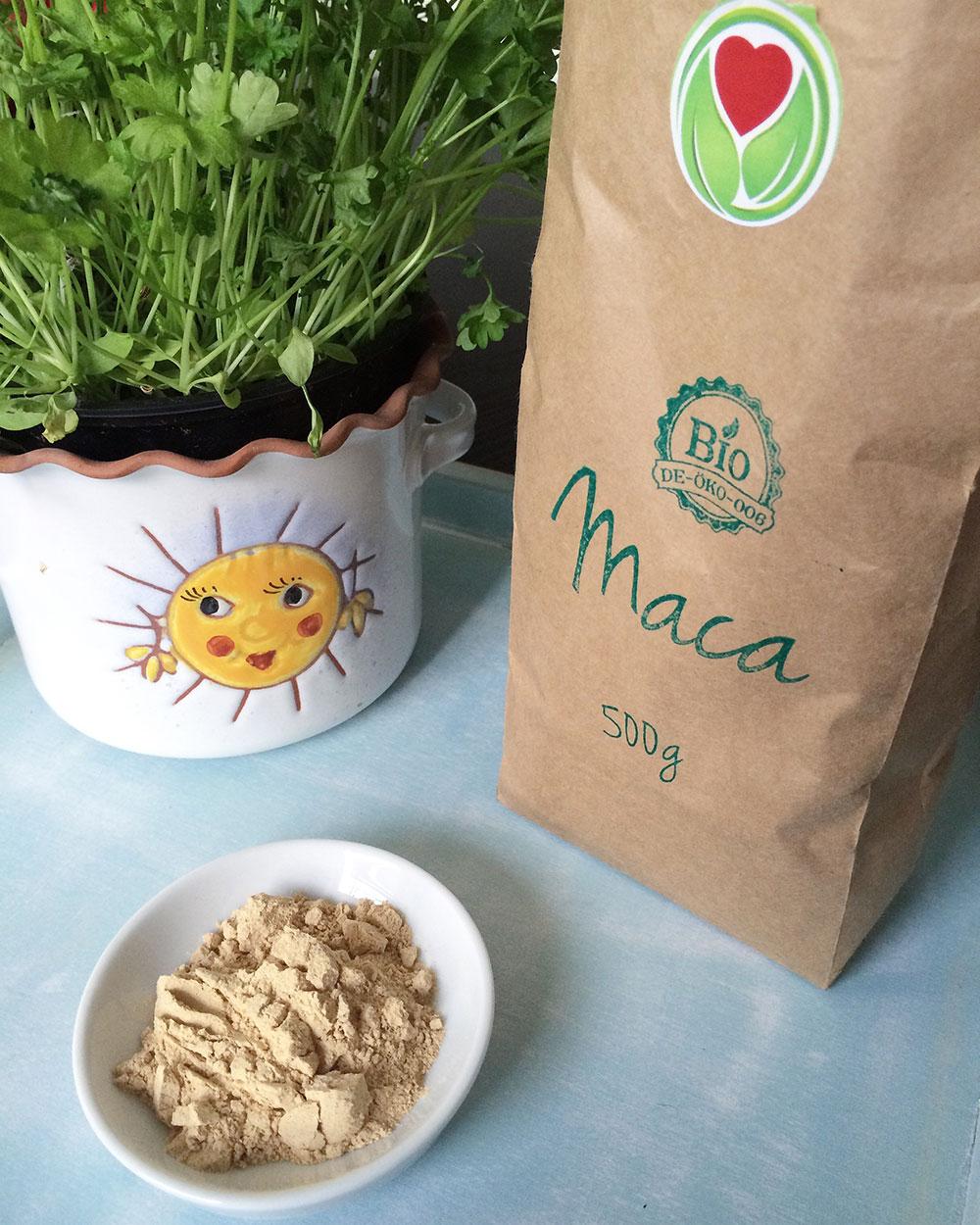 Superfood Maca - Powerknolle aus den Anden