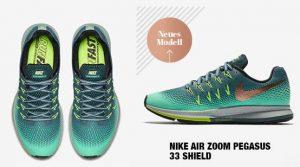 Nike Air Zoom Pegasus 33 Shield bei www.my-sportswear.de/ Spare bis zu 15% mit dem Rabattcode 1129697C