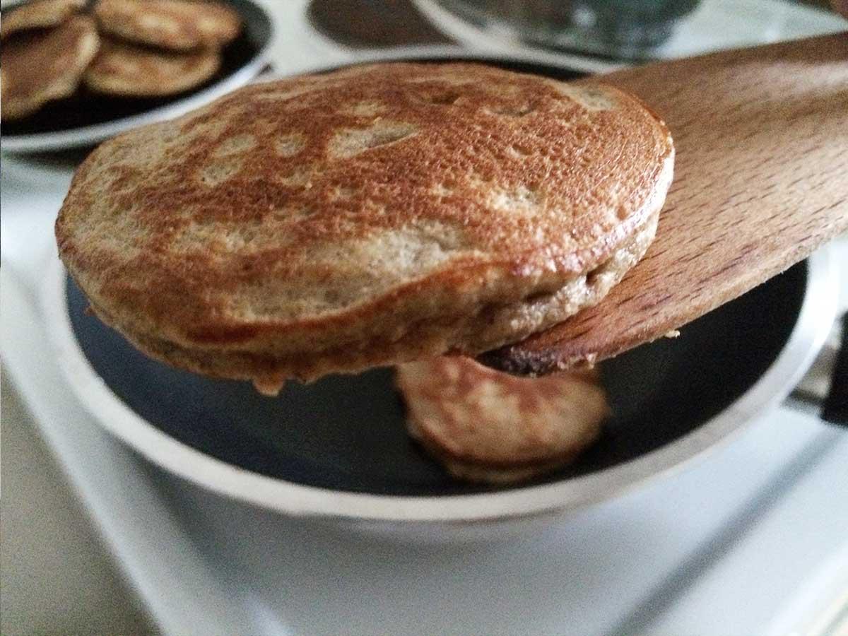 Bananen Pancakes low carb