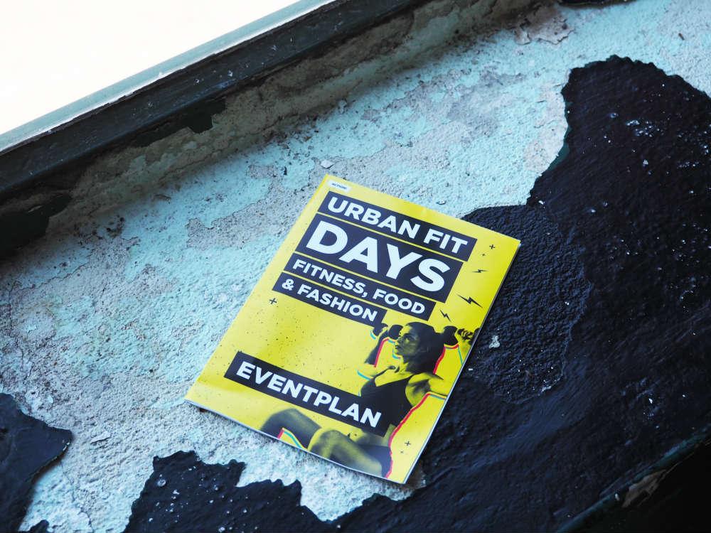 Urban Fit Days 2016 - Eventplan