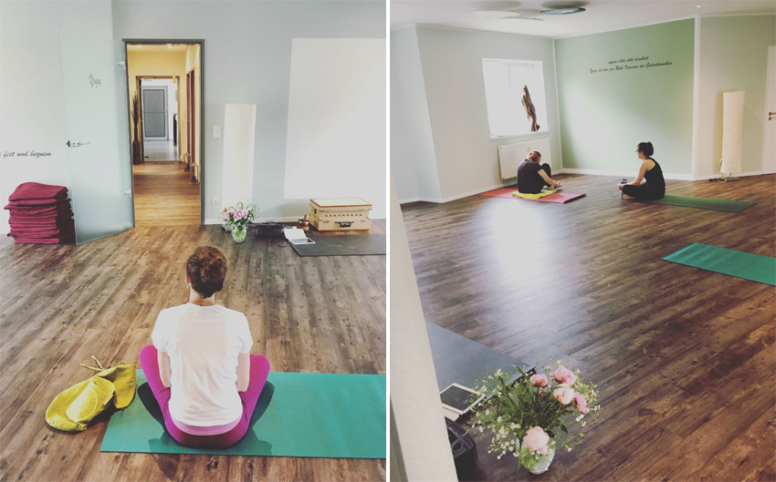 Yoganacht 2016 im Grean Yog Hamburg www.grean-yoga.de