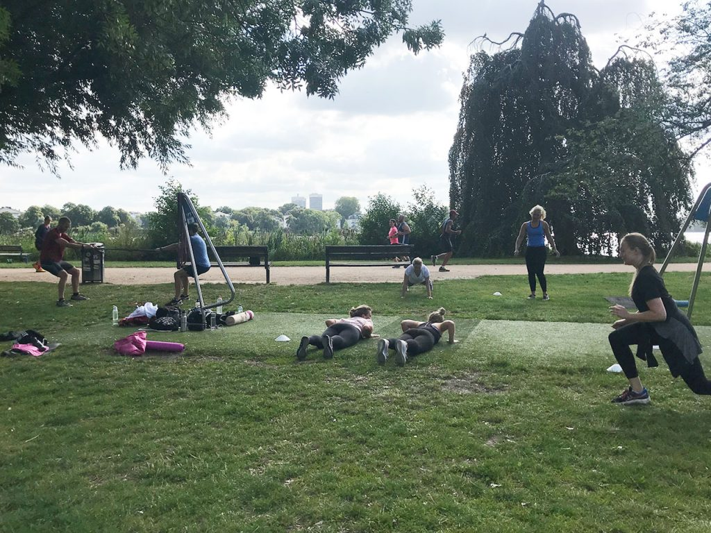 Alster Bootcamp Interval Training Sommer