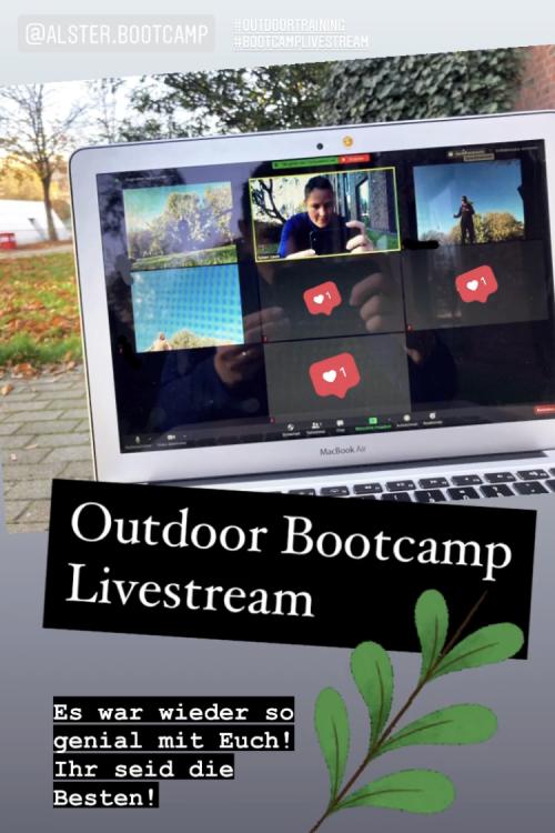 Livestream Bootcamp per Zoom