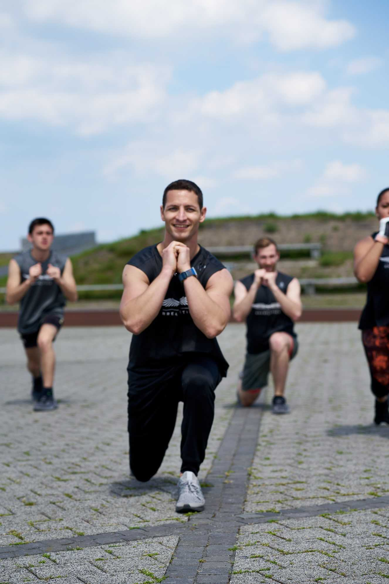 HIIT The Beat Special beim Alster Bootcamp