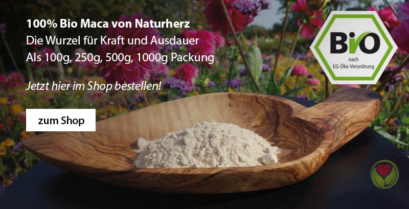 Bio Maca Pulver von Naturherz.de