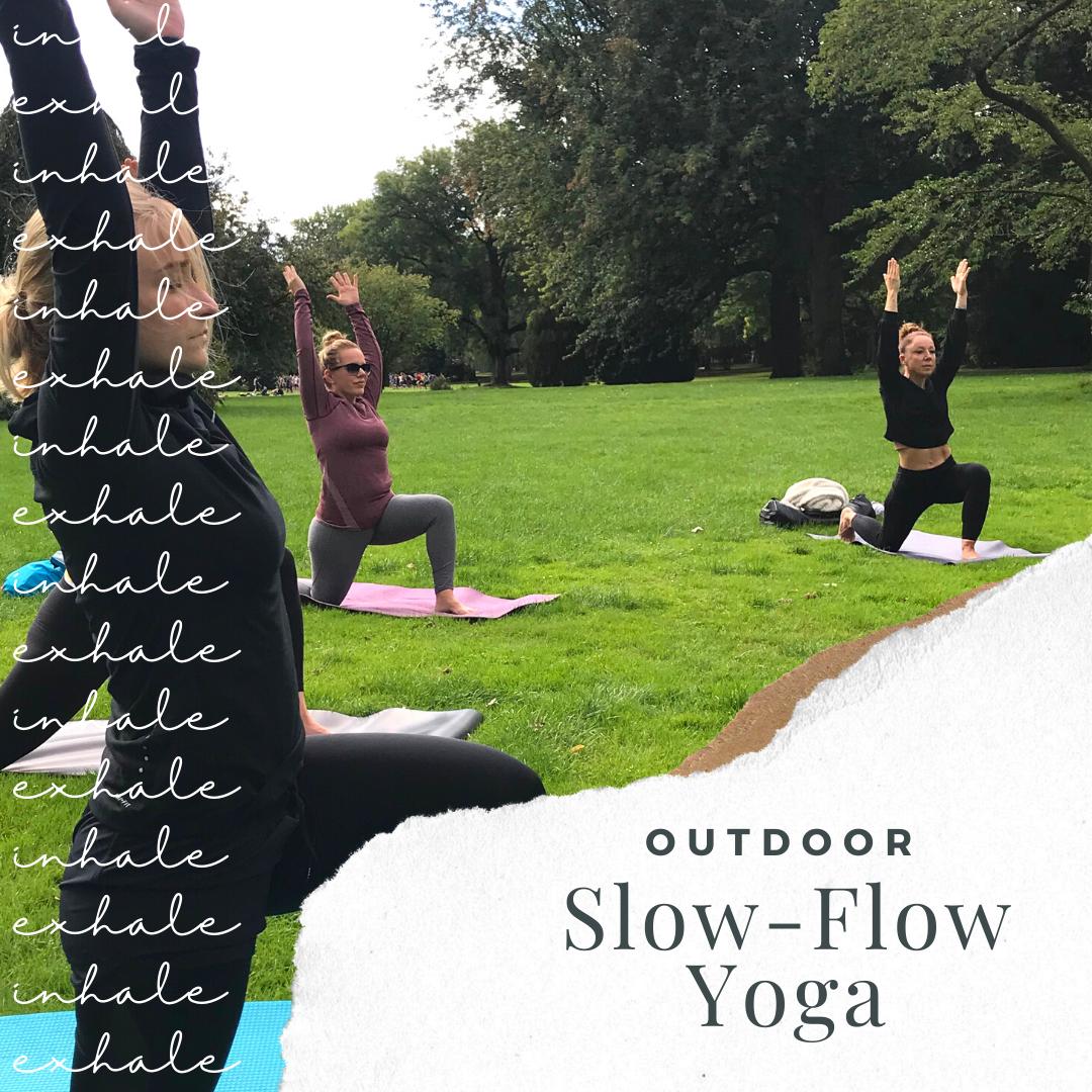 Outdoor Yoga Slow Flow auf der Alsterwiese